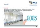 Benodigde ziekenhuiscapaciteit in 2025 en criteria voor aanbodbeheersing van complexe kankerchirurgie, radiotherapie en materniteit